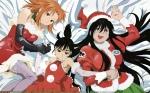 Konachan.com - 24252 christmas genshiken kasukabe_saki ogiue_chika ohno_kanako