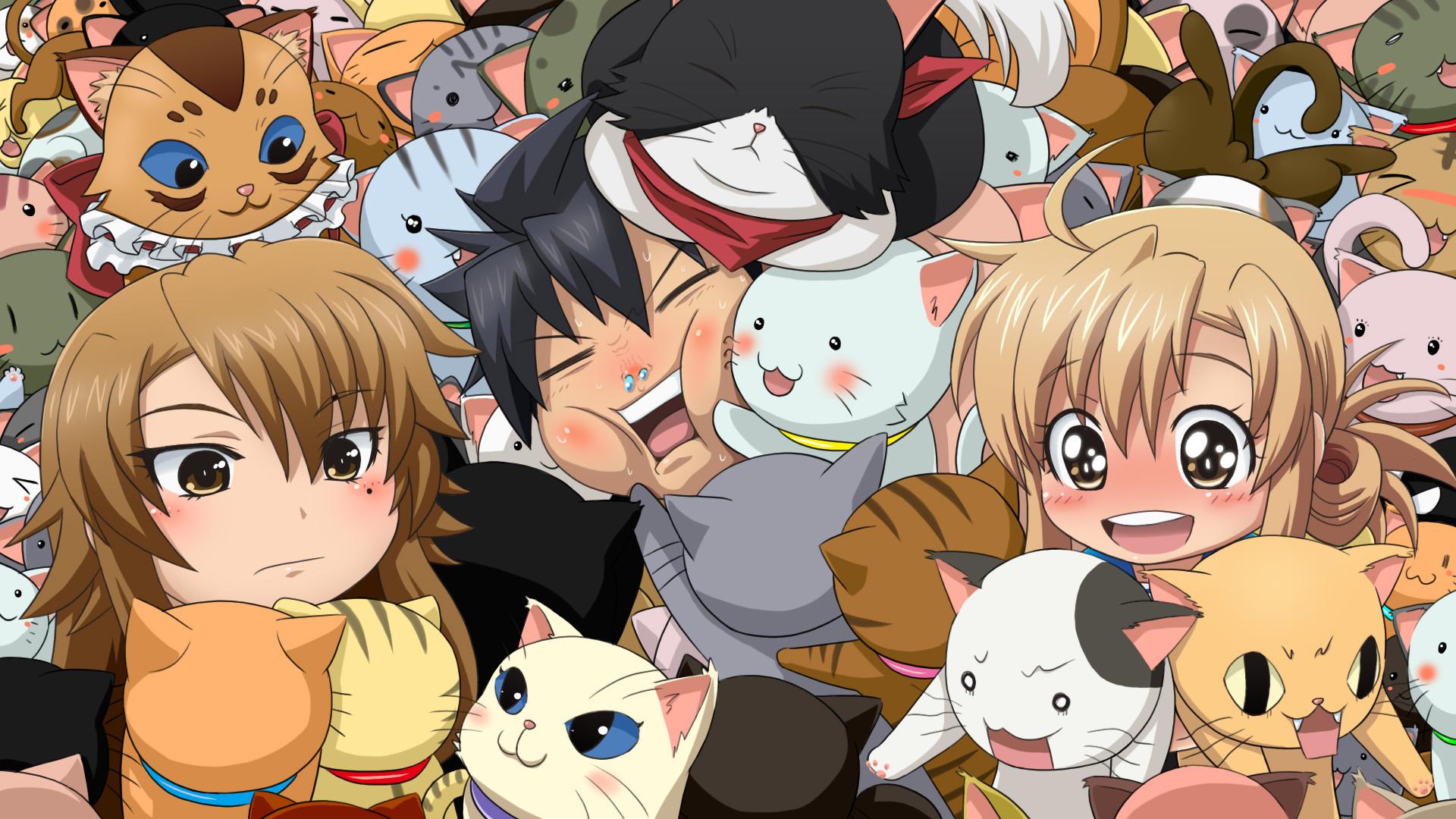 [Área] Recomendações de animes! Nyan-koi-5