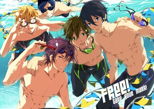 Konachan.com - 163693 free! goggles hazuki_nagisa loyalists male matsuoka_rin nanase_haruka_(free!) ryugazaki_rei swimsuit tachibana_makoto underwater